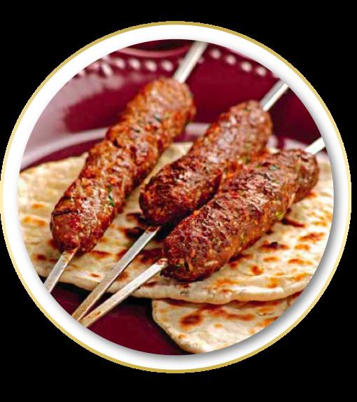 33.-Indian Lamb Kebab a Domicilio Guadalajara