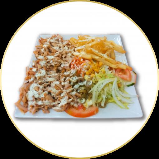 50- Plato Kebab Especial a Domicilio Guadalajara
